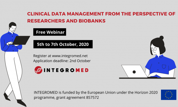 "Webinar ""Clinical data management from the perspective of researchers and biobanks"""