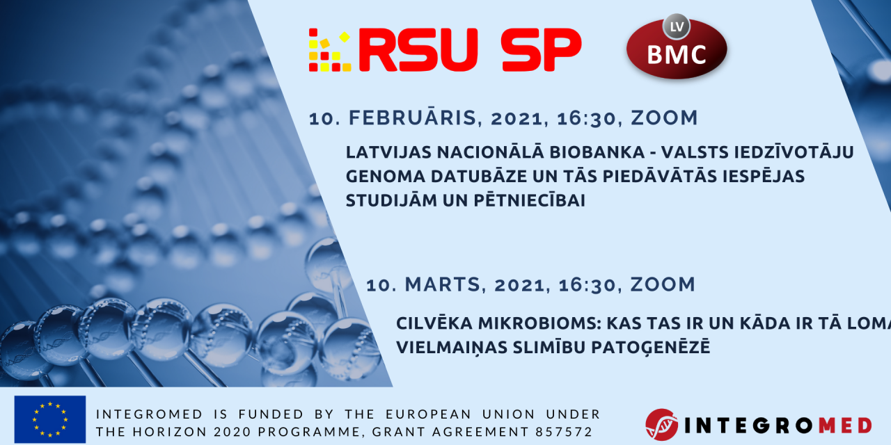 Webinars in cooperation with medical students from Rīga Stradiņš University